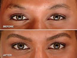 How to Get Thick Eyebrows - Before and After