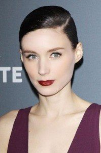 Dark Red Lipsticks Rooney Mara