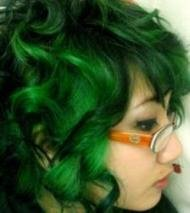Green Hair Dye and Color