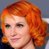 Hayley Williams - Bright Orange Hair Dye