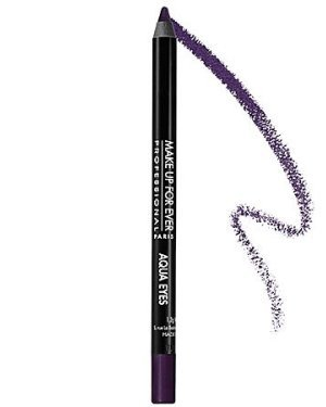 Make Up For Ever Aqua Eyes Black Purple 6L